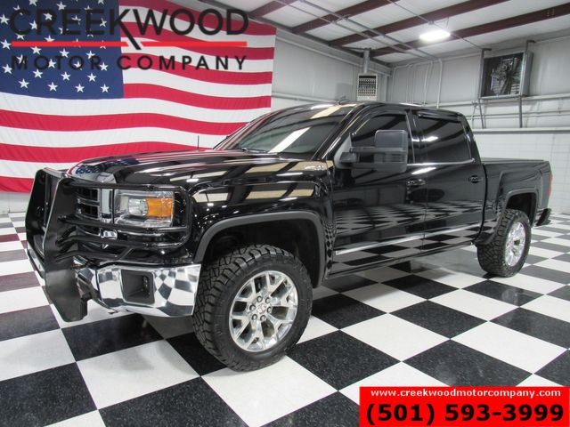 2014 GMC Sierra 1500 SLT 4x4 Black Leveled Chrome 20s Extras Low Miles in Searcy, AR 72143