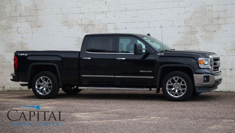 2014 GMC Sierra 1500 SLT Crew Cab 4x4 w/Navigation, Backup Cam, Heated Seats, BOSE Audio & 20in Rims in Eau Claire