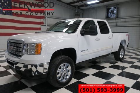 2014 GMC Sierra 2500HD SLT Z71 4x4 Diesel White Chrome Low Miles 1 Owner in Searcy, AR