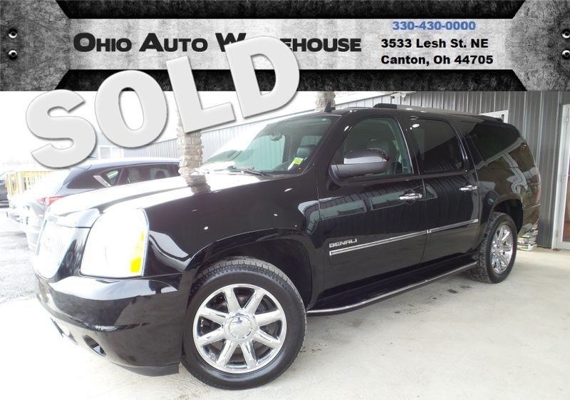 2014 GMC Yukon XL Denali AWD Nav DVD 3rd Row Cln Carfax We Finance | Canton, Ohio | Ohio Auto Warehouse LLC in Canton Ohio