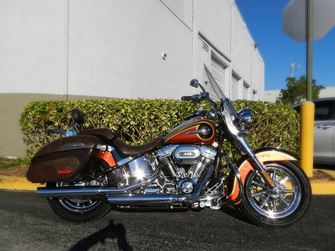 2014 Harley-Davidson Softail CVO Deluxe in Hollywood, Florida