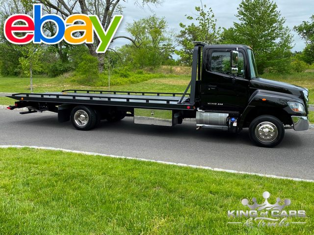 2014 Hino 258 2-Car Diesel ROLLBACK TOW TRUCK LOW MILES 1-OWNER MINT