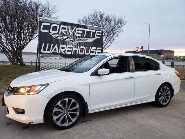 2014 Honda Accord Sport Auto, CD Player, Leather Seats, Alloys 65k in Dallas, Texas 75220