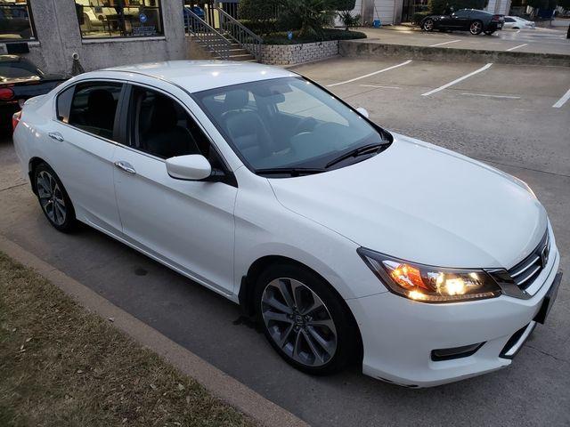2014 Honda Accord Sport Auto, CD Player, Leather Seats, Alloys 65k in Dallas, Texas 75220