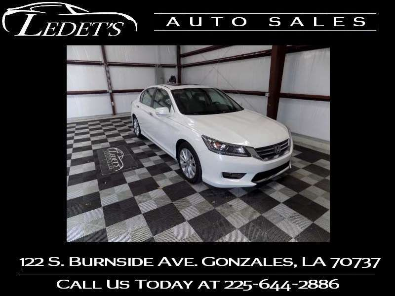 2014 Honda Accord EX - Ledet's Auto Sales Gonzales_state_zip in Gonzales Louisiana