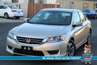 2014 Honda ACCORD LX 11K MLS 1-OWNER SEDAN SERVICE RECORDS in Van Nuys, CA 91406