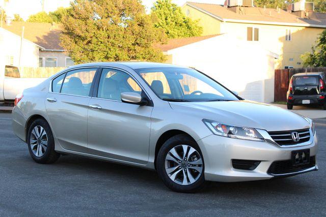 2014 Honda ACCORD LX 11K MLS 1-OWNER SEDAN SERVICE RECORDS in Van Nuys, CA 91406