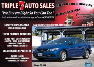 2014 Honda Civic LX in Atascadero CA, 93422