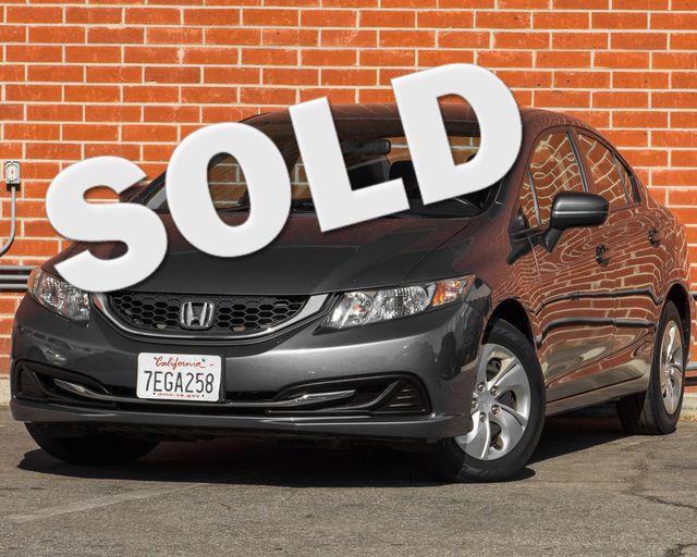 2014 Honda Civic LX Burbank, CA 0
