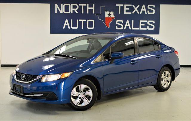 2014 Honda Civic LX 1 OWNER in Dallas, TX 75247
