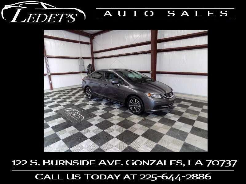 2014 Honda Civic EX - Ledet's Auto Sales Gonzales_state_zip in Gonzales Louisiana