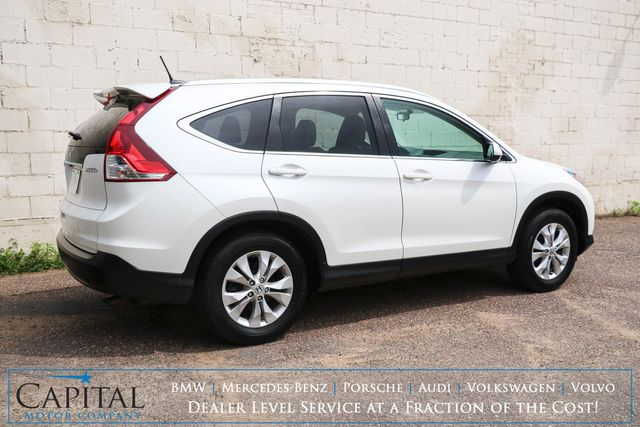 2014 Honda CR-V EX-L 4WD Sport Utility w/Backup Cam, Heated Seats, Power Moonroof and Bluetooth Audio in Eau Claire, Wisconsin 54703