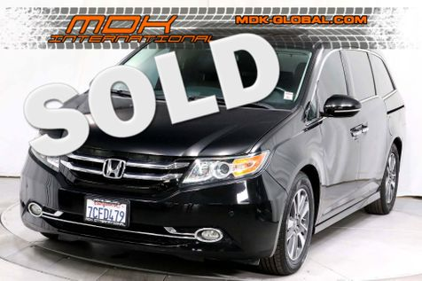 2014 Honda Odyssey Touring - NAV - DVD  - Service Records in Los Angeles