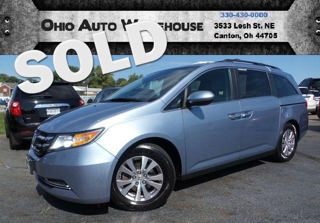 2014 Honda Odyssey EX V6 3rd Row Seating 28 MPG Highway We Finance | Canton, Ohio | Ohio Auto Warehouse LLC in Canton Ohio