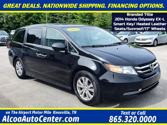 "2014 Honda Odyssey EX-L Smart Key Leather/Sunroof/Heated Seats/17"" in Louisville, TN 37777"