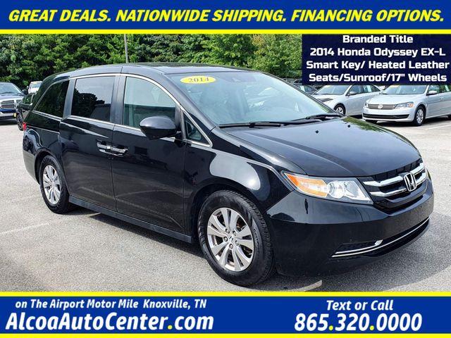 "2014 Honda Odyssey EX-L Smart Key Leather/Sunroof/Heated Seats/17"""