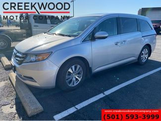 2014 Honda Odyssey EX-L V6 White 1 Owner Leather Heated Tv Dvd CLEAN in Searcy, AR 72143