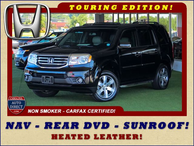 2014 Honda Pilot Touring FWD - NAVIGATION - REAR DVD - SUNROOF! Mooresville , NC 0