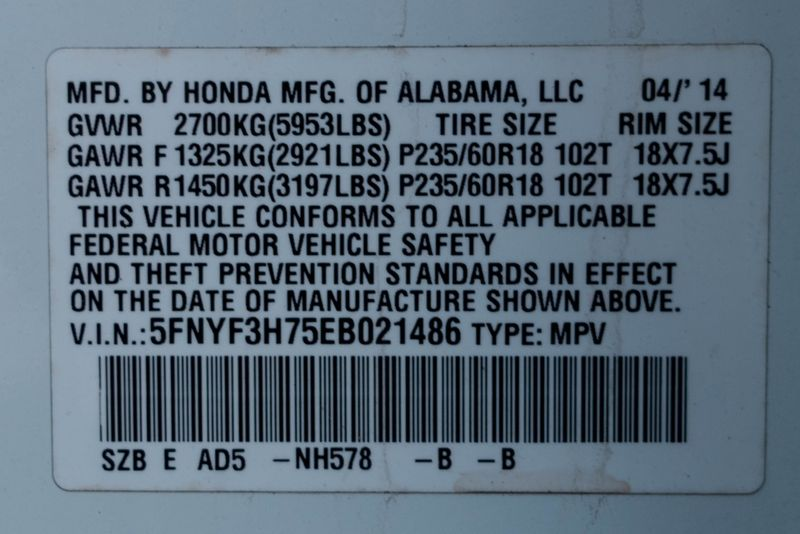 2014 Honda Pilot EX-L   Texas  EURO 2 MOTORS  in , Texas