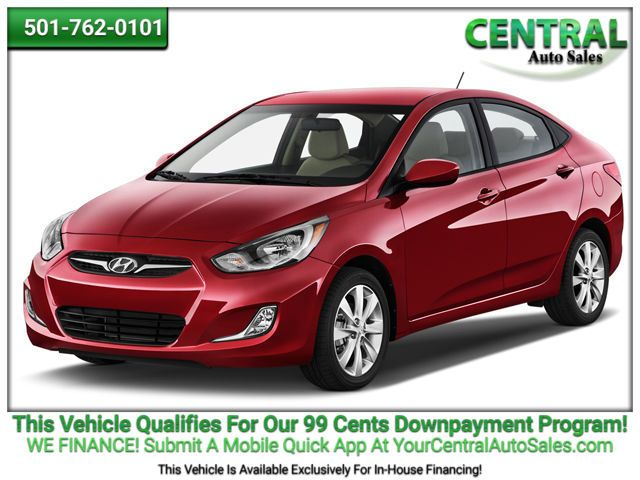 2014 Hyundai Accent GLS   Hot Springs, AR   Central Auto Sales in Hot Springs AR