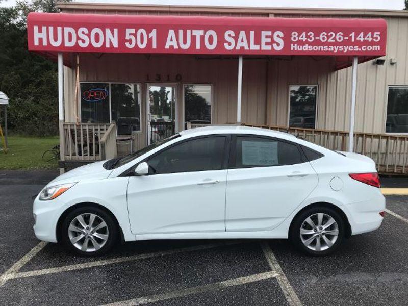 2014 Hyundai Accent GLS   Myrtle Beach, South Carolina   Hudson Auto Sales in Myrtle Beach South Carolina