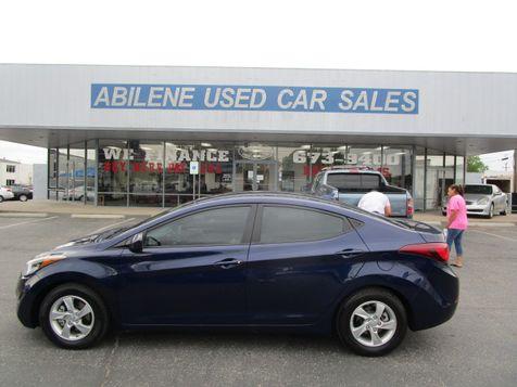 2014 Hyundai Elantra SE in Abilene, TX