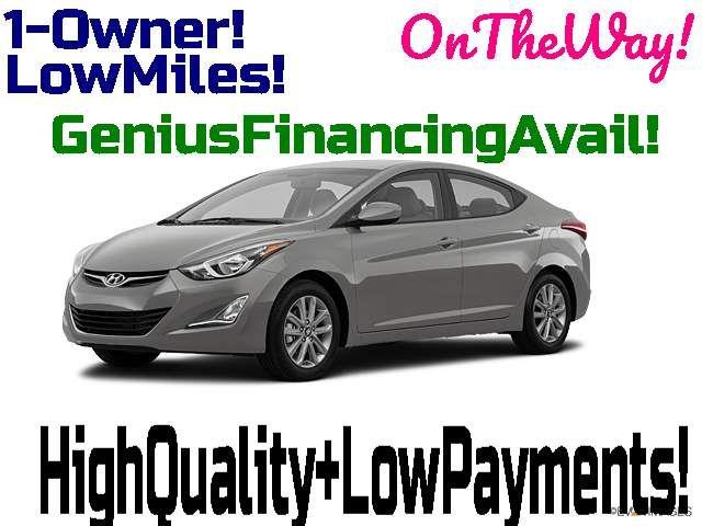 2014 Hyundai Elantra SE in Bentleyville, Pennsylvania 15314