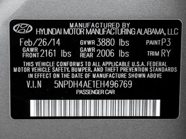 2014 Hyundai Elantra Limited Burbank, CA 27