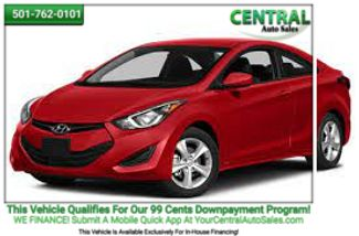 2014 Hyundai Elantra SE | Hot Springs, AR | Central Auto Sales in Hot Springs AR