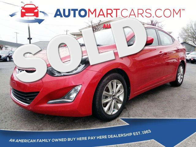 2014 Hyundai Elantra SE | Nashville, Tennessee | Auto Mart Used Cars Inc. in Nashville Tennessee