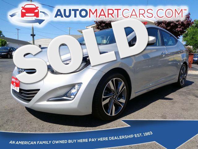 2014 Hyundai Elantra Limited | Nashville, Tennessee | Auto Mart Used Cars Inc. in Nashville Tennessee