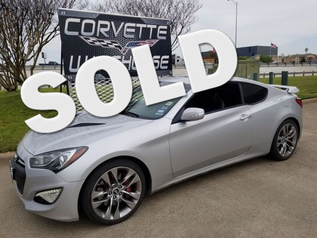2014 Hyundai Genesis Coupe 3.8 Ultimate Manual, Sunroof, Alloys 96k Miles! | Dallas, Texas | Corvette Warehouse  in Dallas Texas