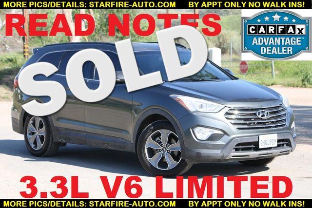 2014 Hyundai Santa Fe Limited Santa Clarita, CA
