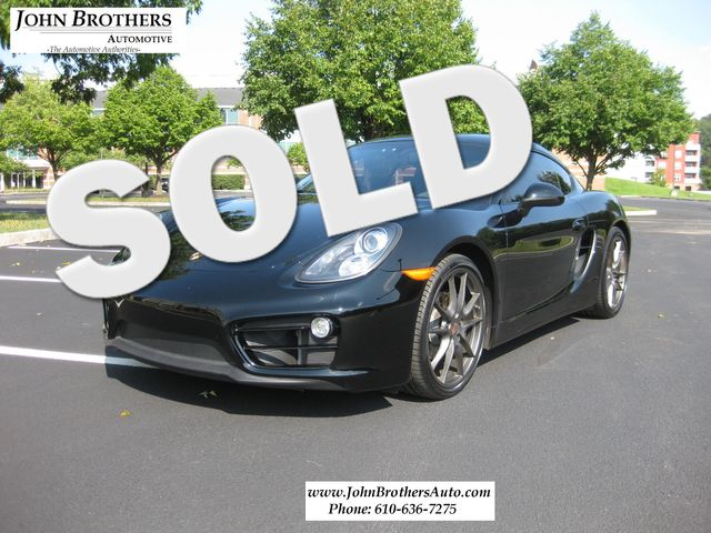 2014 Sold Porsche Cayman Conshohocken, Pennsylvania 0