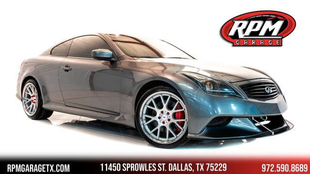 2014 Infiniti Q60 Coupe IPL 6-Speed Manual with Many Upgrades in Dallas, TX 75229