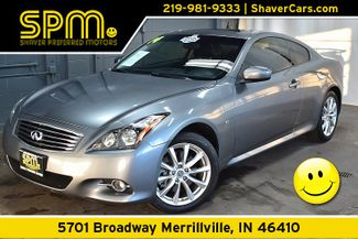 2014 Infiniti Q60 Coupe 2d Coupe AWD in Merrillville, IN 46410