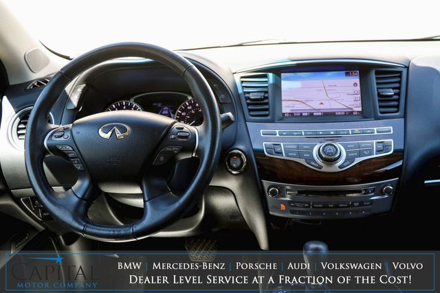 """2014 Infiniti QX60 AWD Crossover w/3rd Row Seats, Dual Screen DVD Entertainment, Technology Pkg & 20"""" Wheel Pkg in Eau Claire, Wisconsin 54703"""