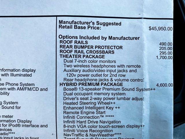 2014 Infiniti QX60 Hybrid Madison, NC 44