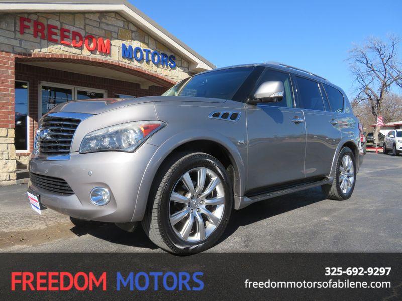 2014 Infiniti QX80  | Abilene, Texas | Freedom Motors  in Abilene Texas