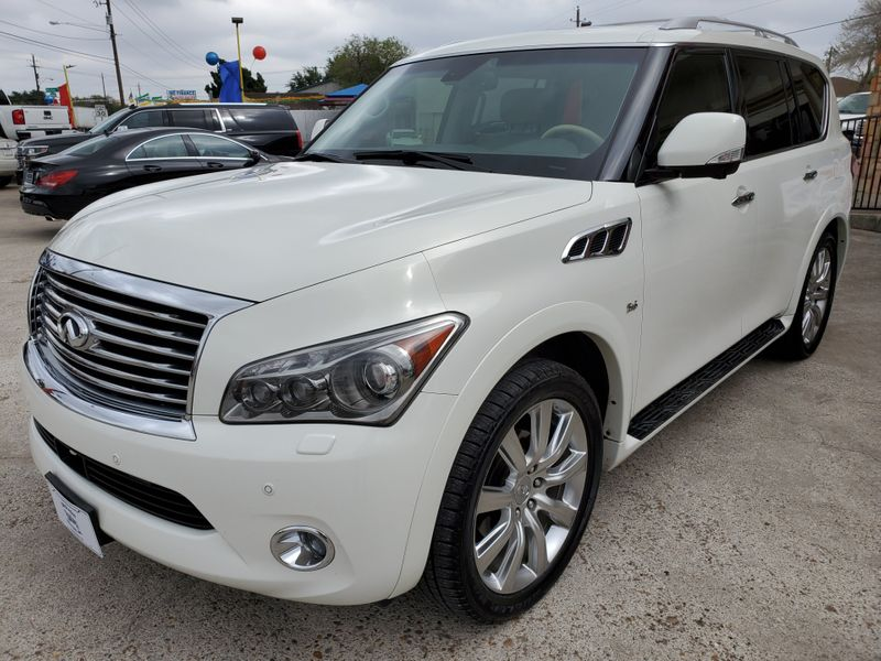 2014 Infiniti QX80   Brownsville TX  English Motors  in Brownsville, TX