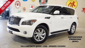 2014 Infiniti QX80 SUNROOF,NAV,BACK-UP,360 CAM,REAR DVD,HTD LTH,20... in Carrollton TX, 75006