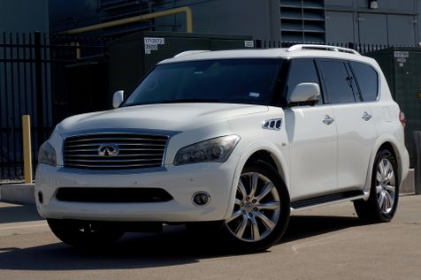 2014 Infiniti QX80 DELUXE TOURING*Technology*Theatre Pack*Nav*BUCAM*   Plano, TX   Carrick's Autos in Plano, TX