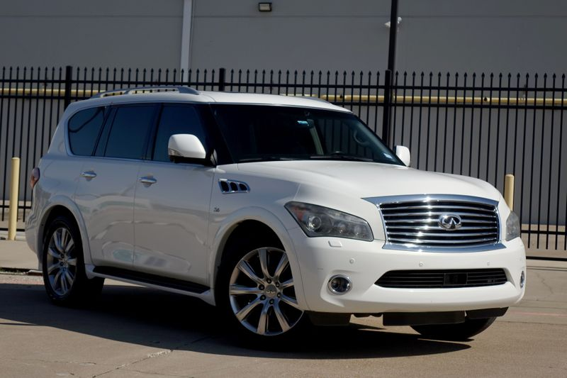 2014 Infiniti QX80 DELUXE TOURING*Technology*Theatre Pack*Nav*BUCAM*   Plano, TX   Carrick's Autos in Plano TX