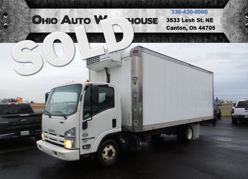 2014 Isuzu NPR HD Diesel 20 FT. Refrigerated Box Truck 1-Owner We Finance | Canton, Ohio | Ohio Auto Warehouse LLC in Canton Ohio