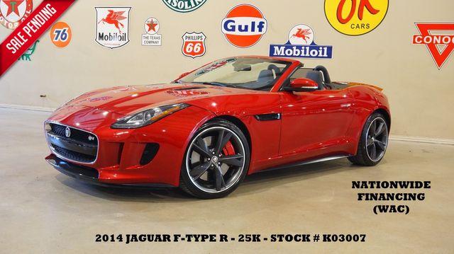 2014 Jaguar F-TYPE V8 R Conv. NAV,BACK-UP CAM,HTD LTH,25K,WE FINANCE