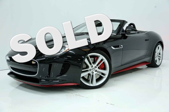 2014 Jaguar F-TYPE Convt V8 S Convt Houston, Texas