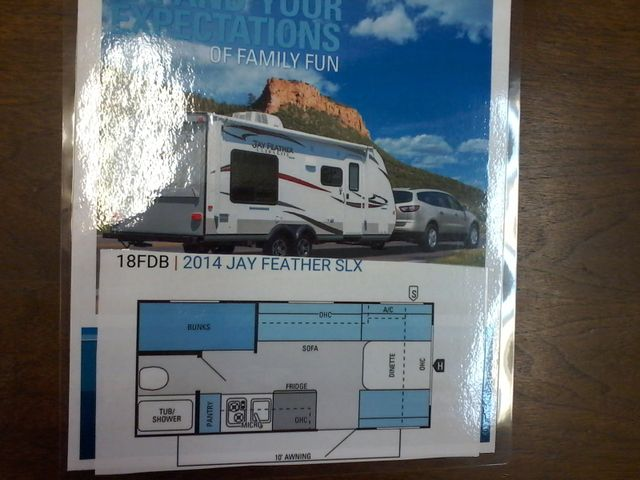 2014 Jayco JAY FEATHER ULTRA LITE SLX 18 FDB San Antonio, Texas 32