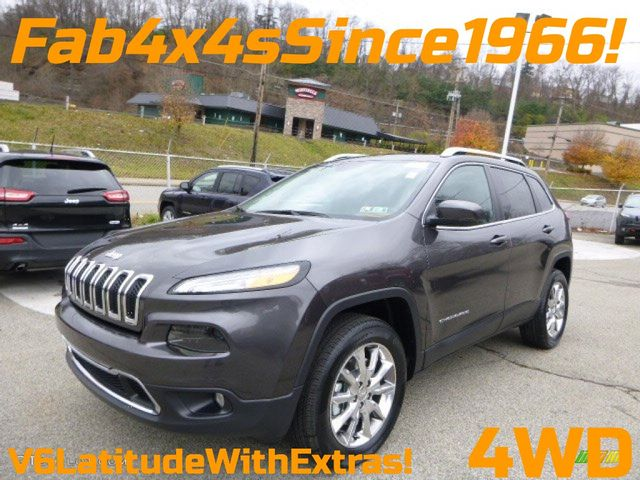 2014 Jeep Cherokee 4WD Latitude in Bentleyville, Pennsylvania 15314