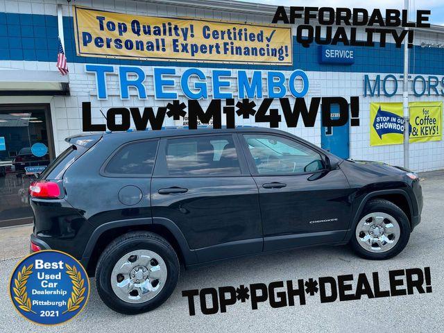 2014 Jeep Cherokee 4X4 Sport in Bentleyville, Pennsylvania 15314