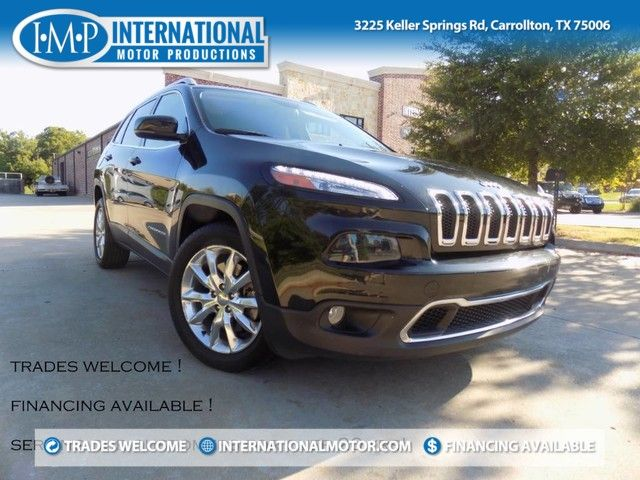 2014 Jeep Cherokee Limited ONE OWNER